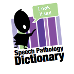 Speech Pathology Dictionary Logo